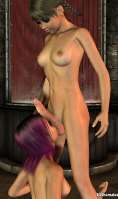 Photos and animations of toon shemale and 3d dickgirls