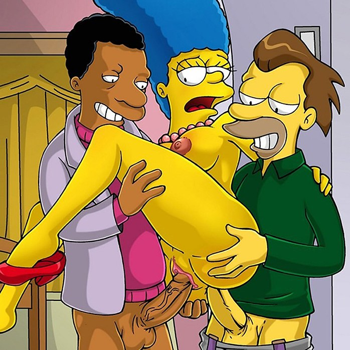 Marge Simpson loves double penetration