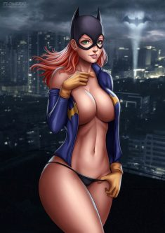 Batgirl with very sexy body
