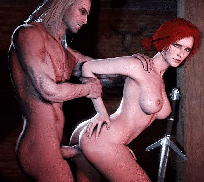 The Witcher – Triss Merigold fucks from behind