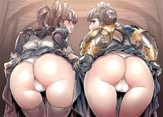 Two nice butts