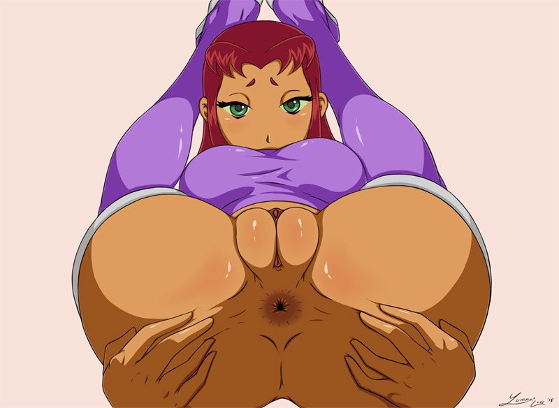 Starfire spread asshole – FurReaper