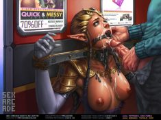 Princess Zelda prepped for cum facial – FurReaper
