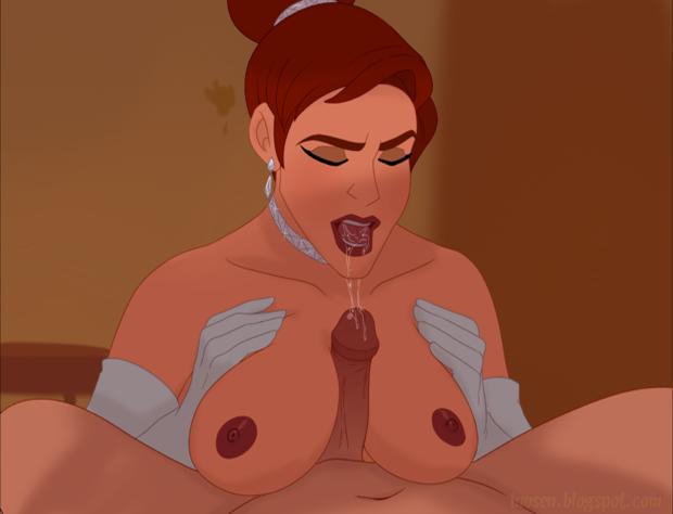 Anastasia boob job